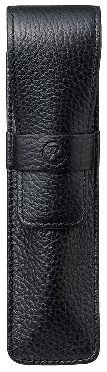 Flap Covered Pen Sheath for 1 Black