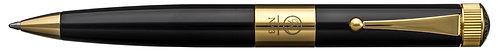 No.3 Ballpoint Pen Wide Barrel Gold Plating Clip Black