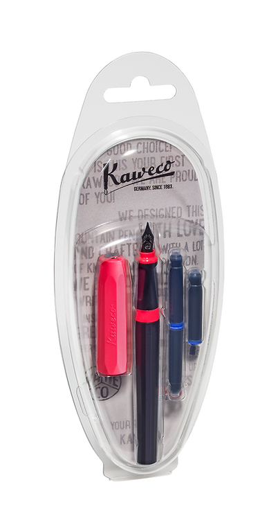 Kaweco PERKEO Fountain Pen Bad Taste Clamshell