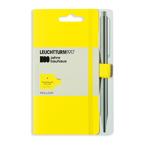 Leuchtturm1917 100 Years Bauhaus Pen Loops Lemon