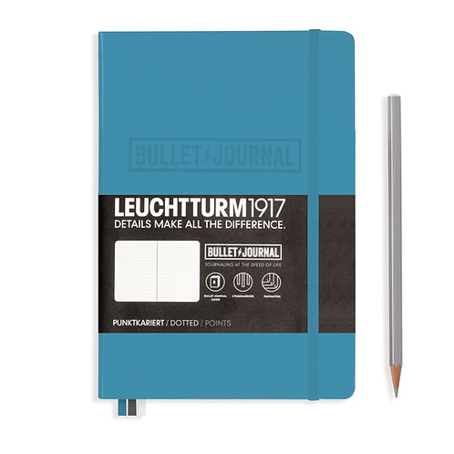 Leuchtturm1917 Bullet Journal Notebook Nordic Blue