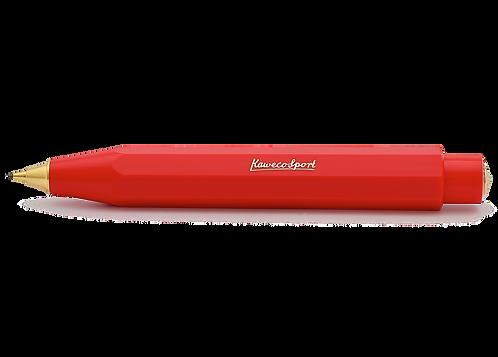 Kaweco CLASSIC Sport Push Pencil 0.7 mm Red