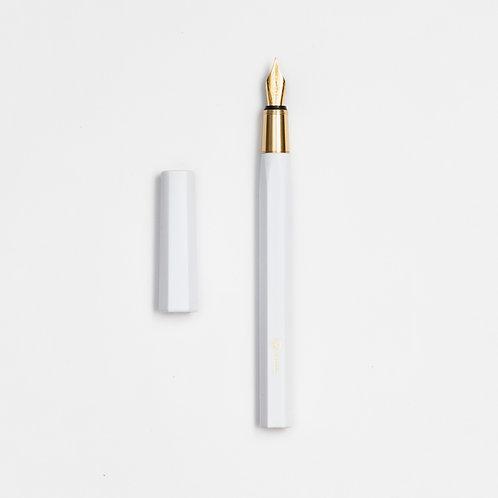 Resin Fountain Pen White