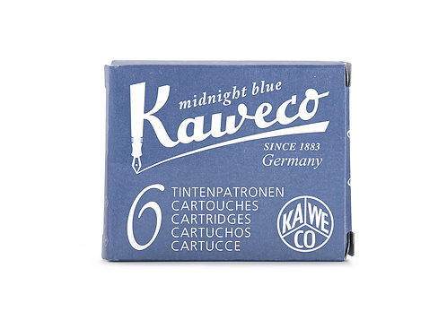Kaweco Ink Cartridges 6-Pack Midnight Blue