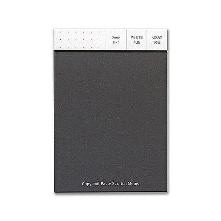 Yamamoto Copy & Paste Scratch Memo A6 Black