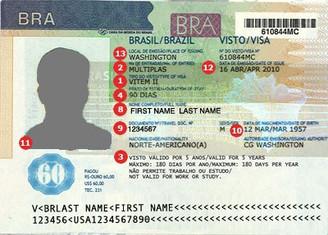 Brasil inicia visto eletrônico para turistas dos EUA