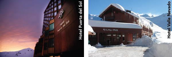 Valle Nevado, Puerta del Sol e Tres Puntas: