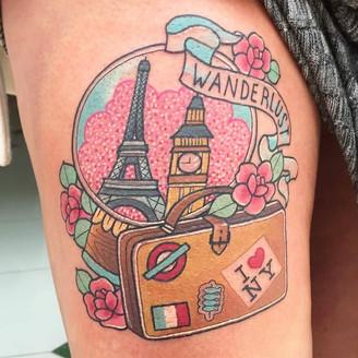 Inspiração de Tatuagens Sobre Viagem