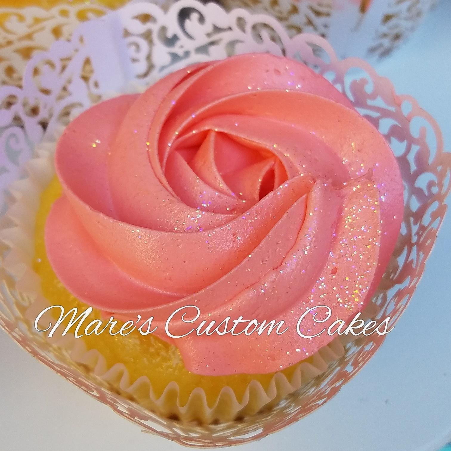 Rosette Cupcake in Corral