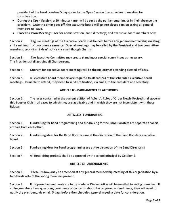 WB Band Booster Bylaws as of 06_16_20_Pa