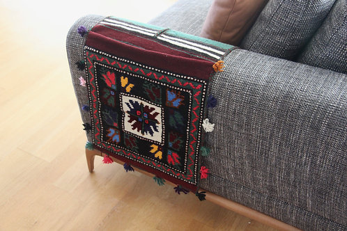 Eslem Carpet Saddle Bag