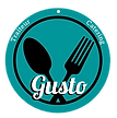 fork spoon gusto catering