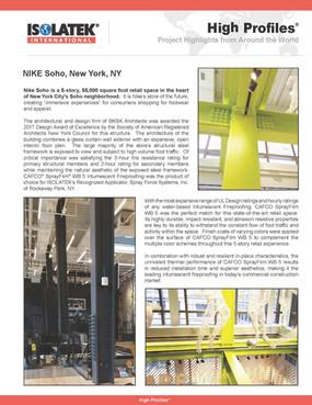 High Profile for Isolatek International