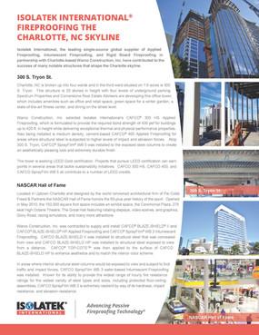 Sell Sheet for Isolatek International