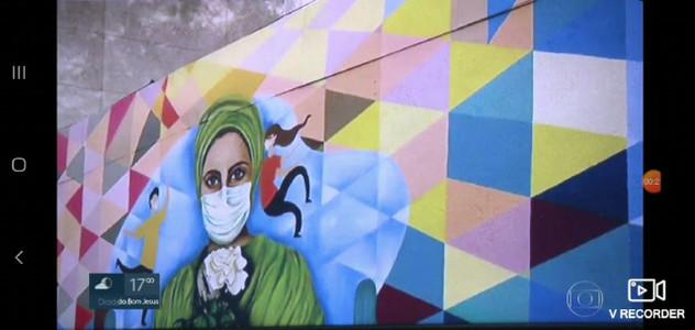 Reportagem Mural Hospital da Clinicas