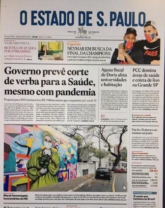 Capa o Estado de S.Paulo