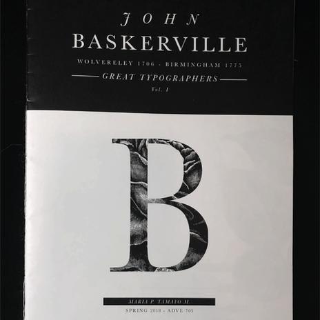 Baskerville.