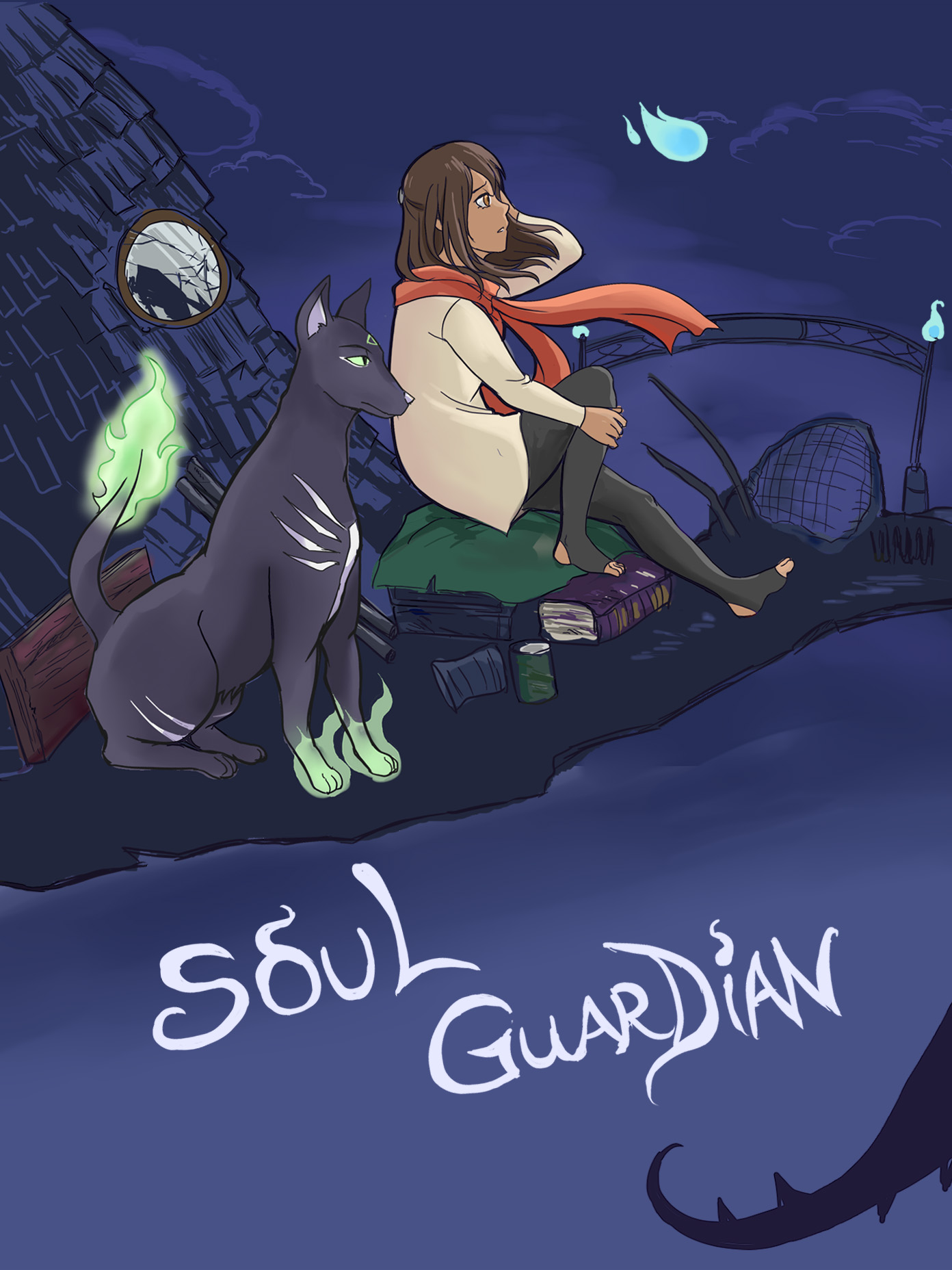 Art cover for Soul Guardian