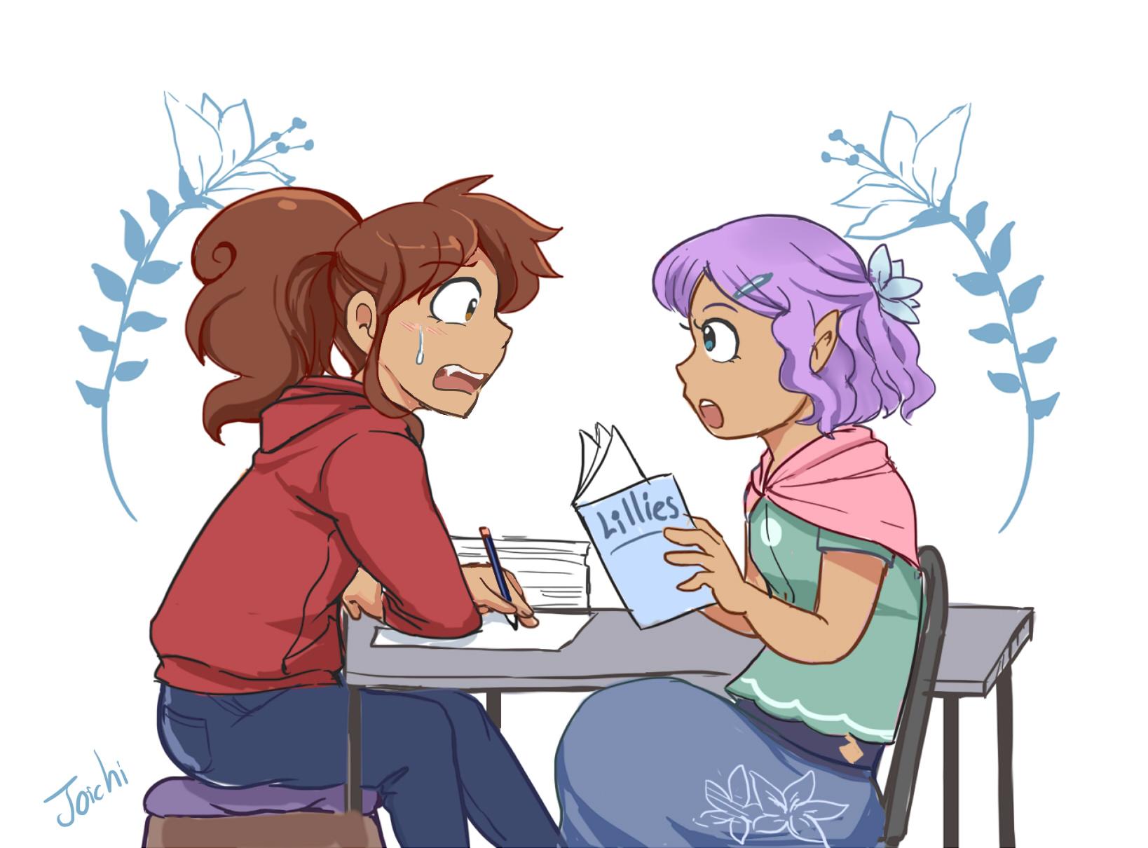 Magical Sisters - Kathy and Anya