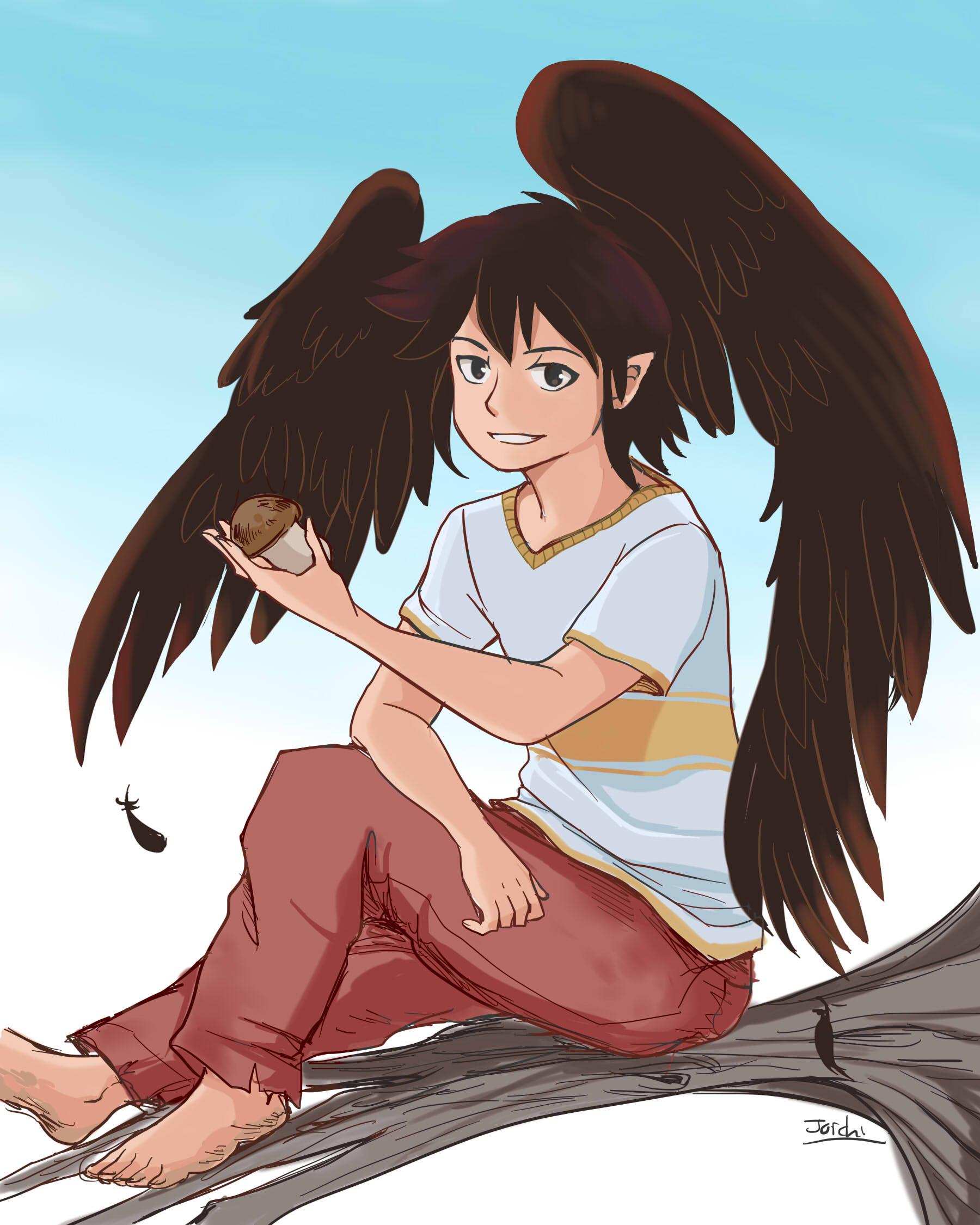 Ash from Keyspace: A Winged Tale