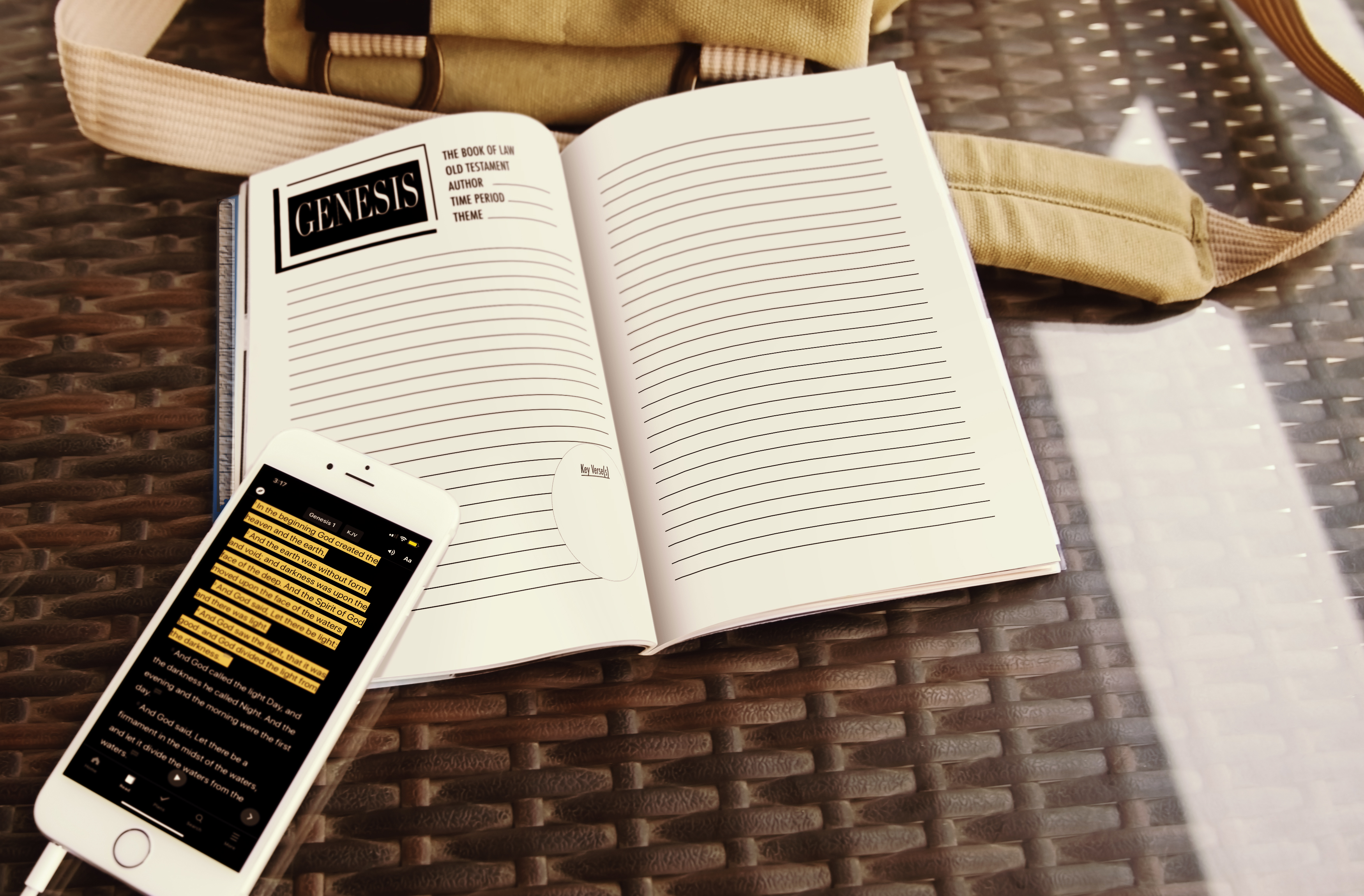 Chosen to Lead by God Journal for young Men