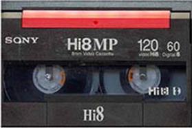 8, Hi8 or Digital8 Tape Capture