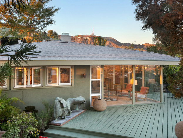 Hollywood Hills Mid-century with Views