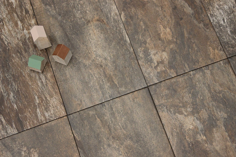 Zion Cork Porcelain Tile