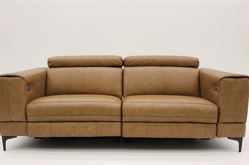 The 4839 Leather Condo Sofa - Sectional