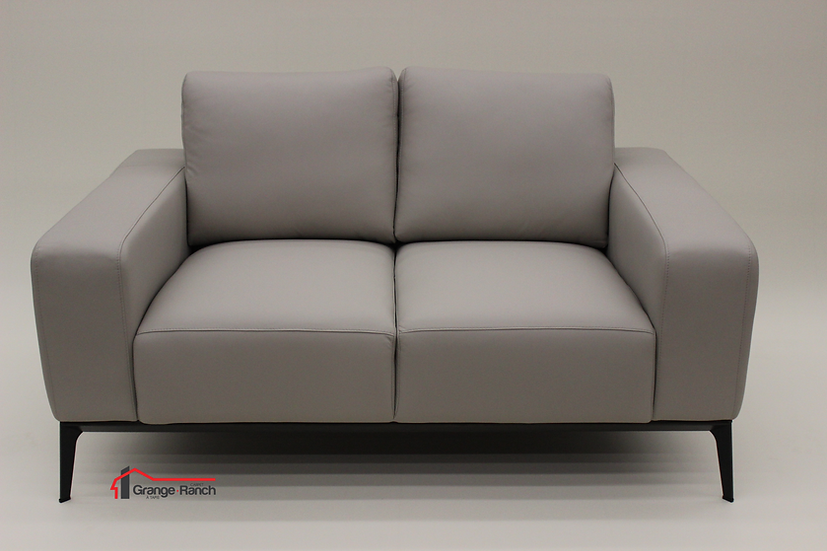 Leather Love Seat by Colibri
