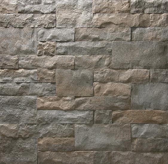 Outdoor/Indoor Wall Stone Drystack in Caramel