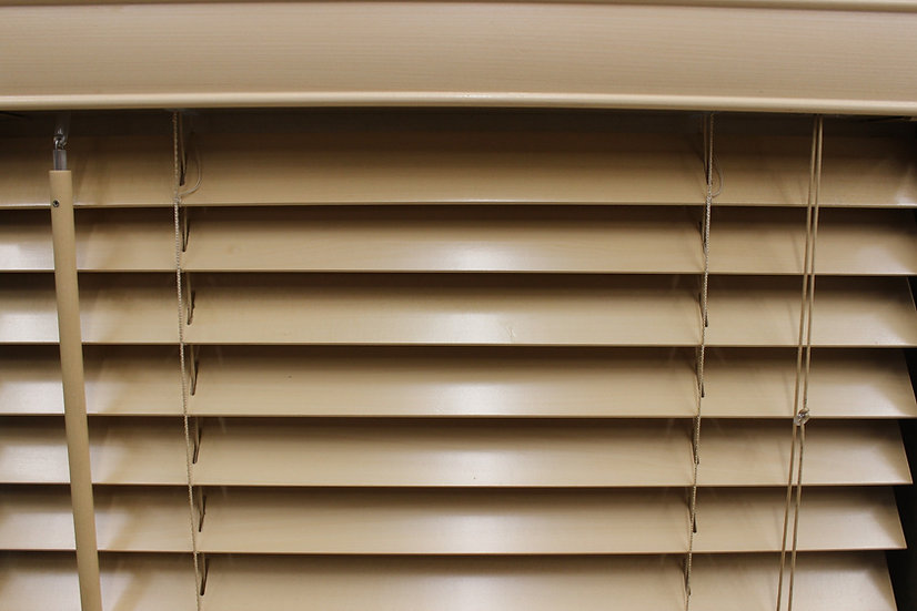 2 inch Bass Wood Blinds, Color Natura