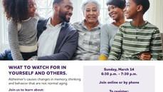 Neighbors invite to Alzheimer's event