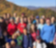 Youth at Camp Grier Fall Retreat 11-2016
