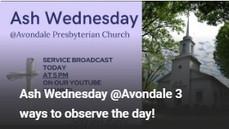 3 ways to observe Ash Wednesday