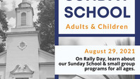 Sunday School & Small Group Sign-up