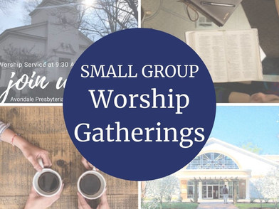 Worship Small Groups