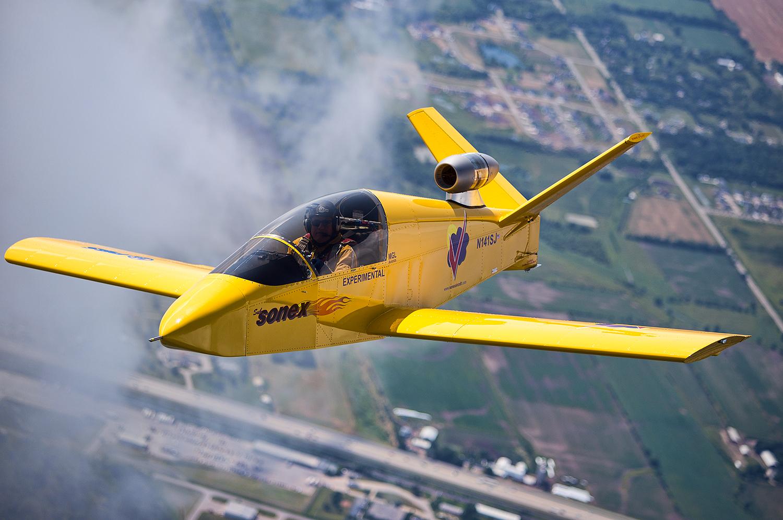 SubSonex MicroJet Airplane