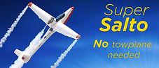 Super Salto jet sailplane