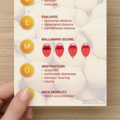 Airway Card