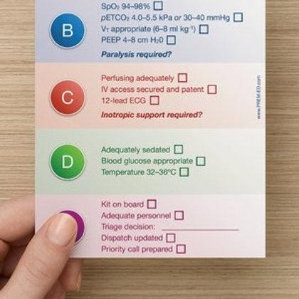 Post-resuscitation Card