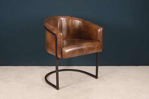 Кресло PINK коричневое