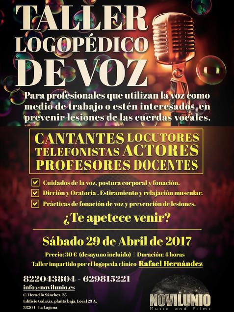 TALLER LOGOPÉDICO DE VOZ