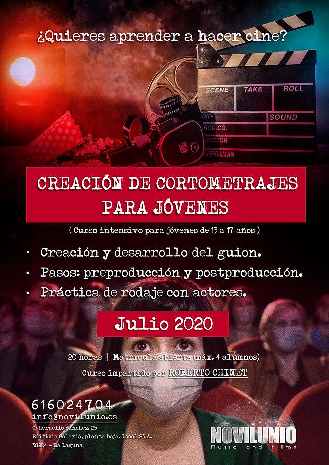 Cartel_Taller_Creación_Cortometrajes_J
