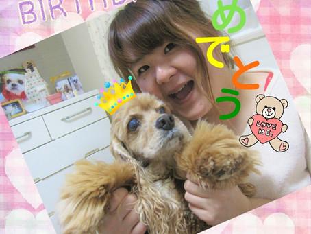 ♪♪happy(*^▽^*)birthday♪♪ひめこ