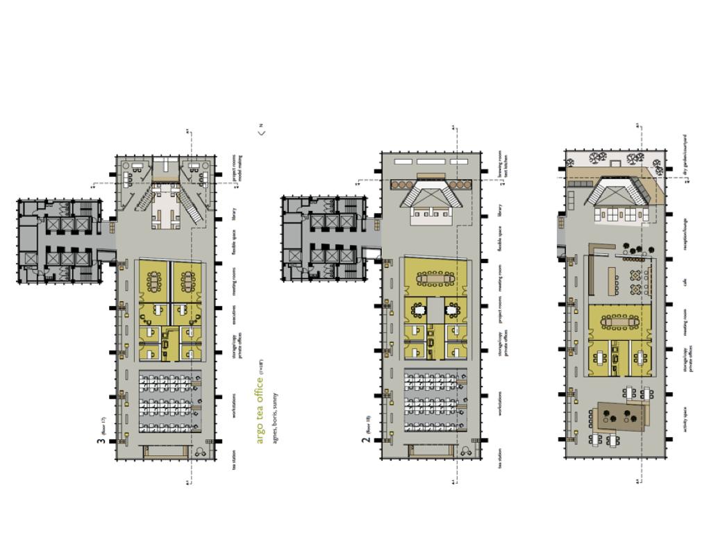Argo Tea - Floor Plans