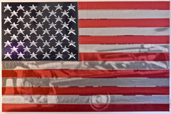JFK - Stars and Stripes