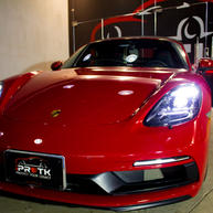 The only Red 718 Boxster GTS