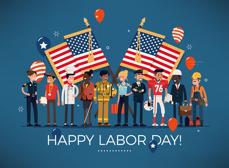 We are closed on Labor Day