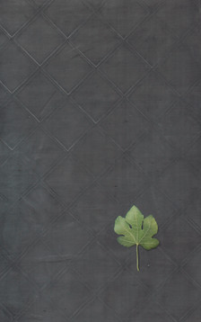 frottage_02 - oil on linen with wood frame 95x160cm+20 cm frame 2018